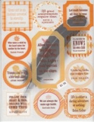 ChatterBox - transparency quotes - butter/tangerine