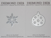 Diemond Dies Snowflake #1 Die and Ornament Die Bundle