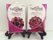 Lot Set Heartfelt Creations Die + Stamp Combo Arianna Blooms Die HCD748 + Stamp HCPC3608