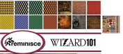 Reminisce - Wizard 101 Scrapbook Papers & Stickers Set