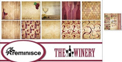 Reminisce - The Winery Scrapbook Papers & Stickers Set