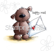 Stamping Bella Cling Stamp 17cm x 11cm -Harry Has Happy Mail