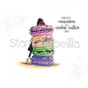 Stamping Bella Cling Stamp 17cm x 11cm -Monique Loves Macarons