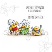 Stamping Bella Cling Stamp 17cm x 11cm -Iron Chef Chicks