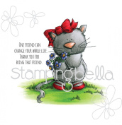 Stamping Bella Cling Stamp 17cm x 11cm -Marmalade The Kitty Stuffie