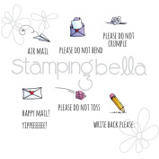 Stamping Bella Cling Stamp 17cm x 11cm -Mr Postie's Mini Envelope Accents
