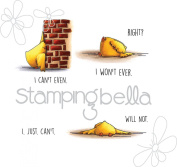 Stamping Bella Cling Stamp 17cm x 11cm -The Chicks Who Couldn't Even