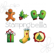 Stamping Bella Cling Stamp 17cm x 11cm -Christmas Spirit Envelope Accents