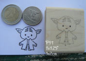 P91 Yoda rubber stamp