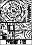 Twilight Zone Texture Stamp