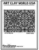Flexistamps Texture Sheets Flourish Inverse Design - 1 Pc.