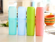 M-Aimee 4PCS/Set Travel Toothbrush Brush and Toothpaste Portable Container