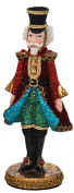 Katherine's Collection Fancy Glitter Jewel Nutcracker Figurine