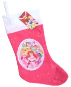 Disney Princess Little Girls' Felt Christmas Stocking