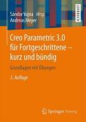 Creo Parametric 3.0 Fur Fortgeschrittene - Kurz Und Bundig [GER]