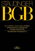 Art 11-29 ROM I-Vo; Art 46 B, C Egbgb [GER]