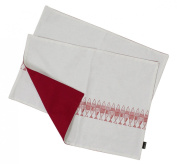 JustNile 2-piece Printed Pattern Placemat Set - Red Fish
