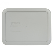 Pyrex 7210-PC Grey Rectangle 3 Cup (750mL) Plastic Storage Cover
