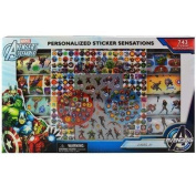 Marvel Avengers Assemble Personalised Sticker Sensation - 743 Stickers in window display box
