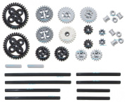 LEGO 33pc Technic gear, axle and Clutch gear! SET #4 Includes RARE CROWN GEARS