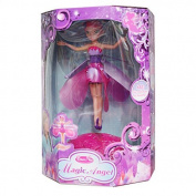 Colourful Flying Fairy Doll Toy Fairy Gift for Kids Children Girls Pink
