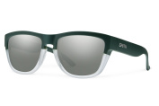 Smith Optics Clark Sunglasses, Matte Olive Crystal Frame, Super Platinum Lens