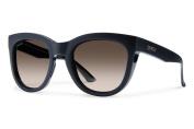 Smith Optics Sidney Sunglasses, Matte Black Frame, Polarised Brown Gradient Lens