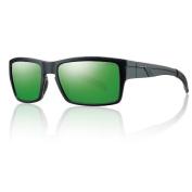 Smith Optics Outlier Sunglasses, Matte Black Corsair Frame, Polarised Grey Lens