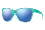 Smith Optics Ramona Sunglasses, Opal Frame, Blue Flash Mirror Lens