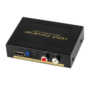 New style Premium Quality 1080P HDMI To HDMI + Audio (SPDIF + RCA Stereo) Audio Extractor Converter