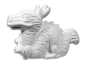 Smokie the Dragon - Paint Your Own Ceramic - Unfinished Low-Fire Ceramic Bisque - Paint-a-Potamus