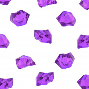 Acrylic Colour Ice Rock Crystals Treasure Gems for Table Scatters, Vase Fillers, Event, Wedding, Birthday Decoration Favour, Arts & Crafts (385 Pieces) by Super Z Outlet®