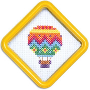 Easystreet Little Folks Hot Air Balloon Counted Cross-Stitch Kit