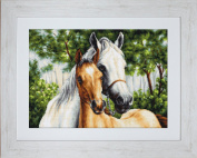 Luca S Horse Mother & Child Cross Stitch Kit