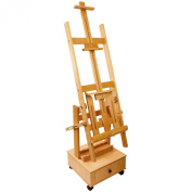 US Art Supply® Double Rocker Multi-Purpose Studio Easel