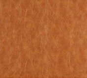 Designer Fabrics G625 140cm . Wide Caramel Brown, Distressed Leather Upholstery Grade Recycled Leather