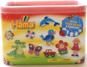 10000 Hama Beads and Five Pegboards Solid Colour MIx