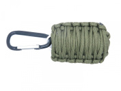Paracord Survival Gear, Survival Bracelet with Alarm Whistle, Paracord Rope and Fire Starter, Survival Kit with Fishing Gear, Paracord Rope and Fire Starter, Key Ring with Paracord Rope