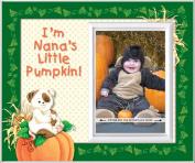 Nana's Little Pumpkin - Halloween Picture Frame Gift