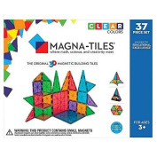 Magna-Tiles Clear Colours 37 Piece Set - 14837