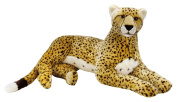"National Geographics ""SUPER GIANT CHEETAH"" Stuffed Animals Plush Toy"