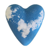 Megafizz Bath Heart - Adam - Blue