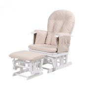 Kub Haywood Reclining Nursing Glider and Footstool