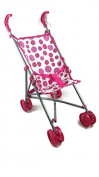 Baby Cuddles Pink Kids Dolls Pushchair Toy buggy