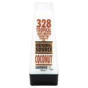 Original Source Coconut Shower Gel 250 ml - Pack of 6 by PZ Cussons UK Ltd