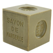 Marius Fabre Cube of Pure Marseilles Soap (600G, 1. Green (Olive Oil)) by Marius Fabre