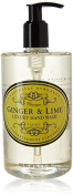 Naturally European Ginger & Lime Luxury Hand Wash Cleanse & Moisturise 500ml by Somerset Distribution