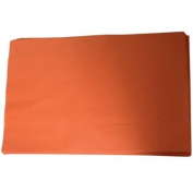 JAM Paper Tissue Paper - Orange - Ream of 480 sheets