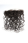 Sexyqueenhair Brazilian Curly Lace Frontal Closure 4*13 Bleached Knots Remy Human Hair Closure 30cm