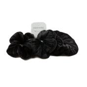 Mytoptrendz® Pack Of 3 Velvet Hair Scrunchies Hair Bobbles Hair band